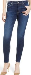 AG skinny high rise ankle jeans